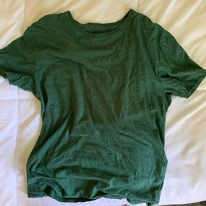 Green T-shirt from Urban Outfitters